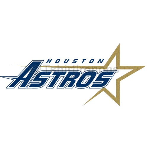 Houston Astros T-shirts Iron On Transfers N1607