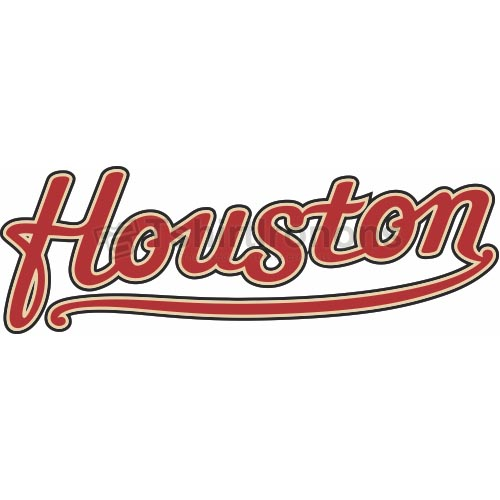 Houston Astros T-shirts Iron On Transfers N1609