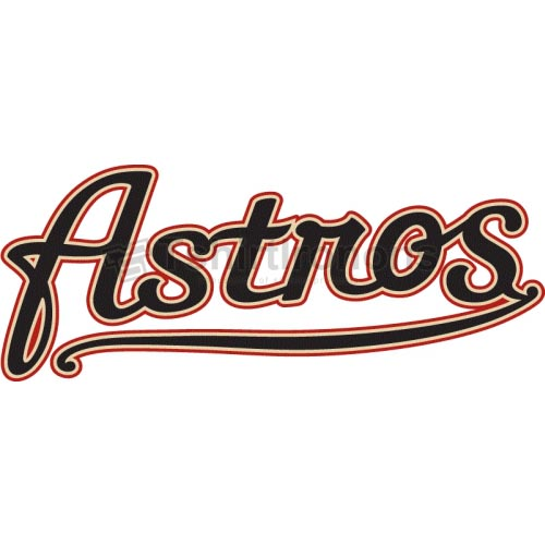 Houston Astros T-shirts Iron On Transfers N1610