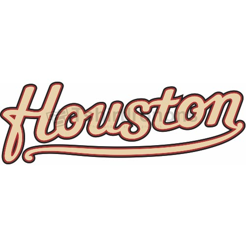 Houston Astros T-shirts Iron On Transfers N1611