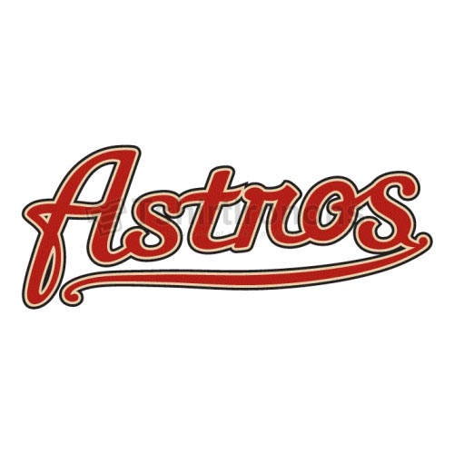 Houston Astros T-shirts Iron On Transfers N1612
