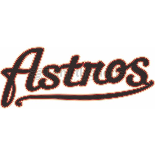 Houston Astros T-shirts Iron On Transfers N1613