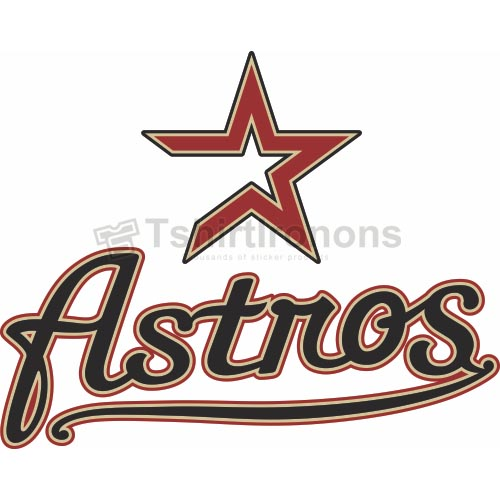 Houston Astros T-shirts Iron On Transfers N1614