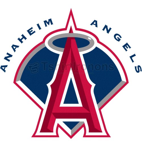 Los Angeles Angels of Anaheim T-shirts Iron On Transfers N16