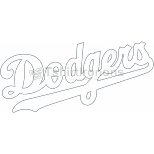 Los Angeles Dodgers T-shirts Iron On Transfers N1658