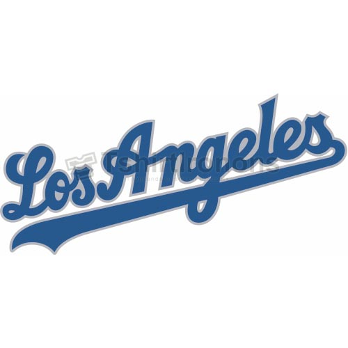 Los Angeles Dodgers T-shirts Iron On Transfers N1659