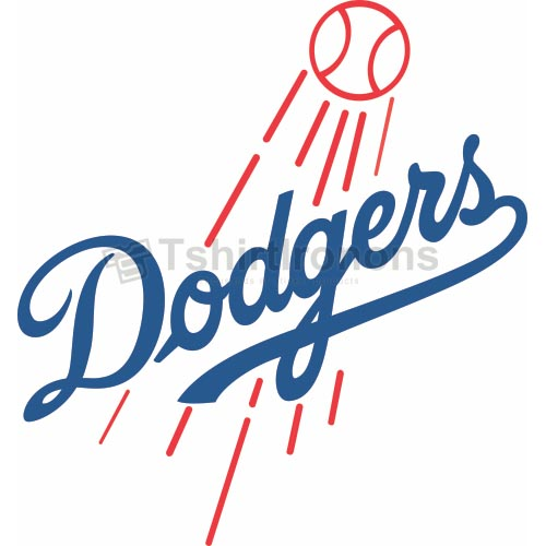 Los Angeles Dodgers T-shirts Iron On Transfers N1662