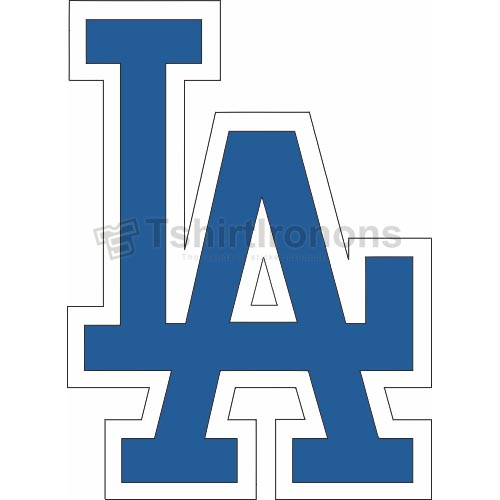 Los Angeles Dodgers T-shirts Iron On Transfers N1663