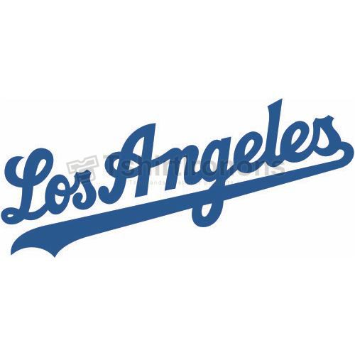 Los Angeles Dodgers T-shirts Iron On Transfers N1664