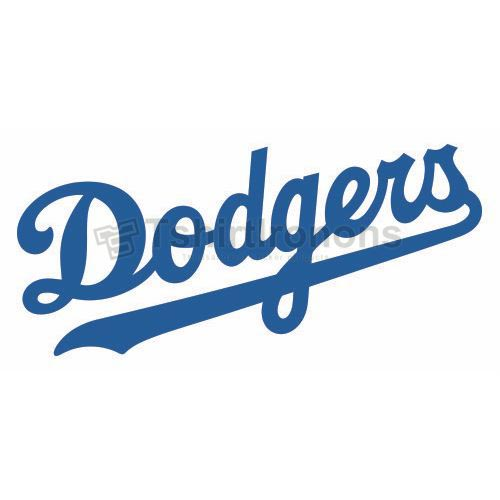 Los Angeles Dodgers T-shirts Iron On Transfers N1665