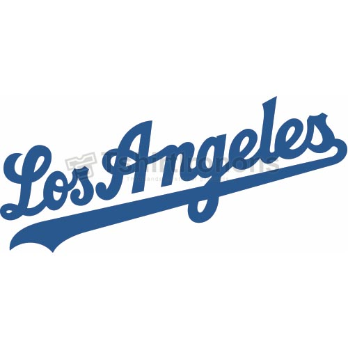 Los Angeles Dodgers T-shirts Iron On Transfers N1666