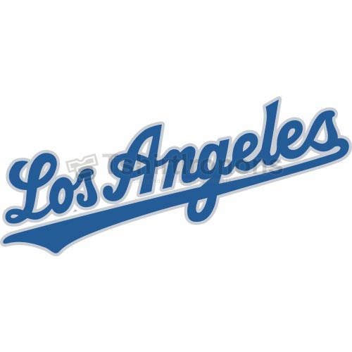 Los Angeles Dodgers T-shirts Iron On Transfers N1667