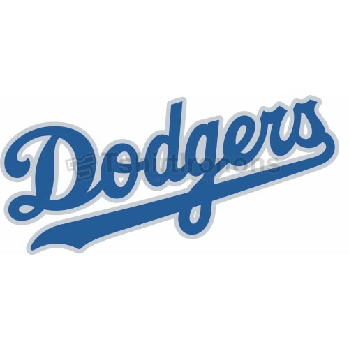 Los Angeles Dodgers T-shirts Iron On Transfers N1668