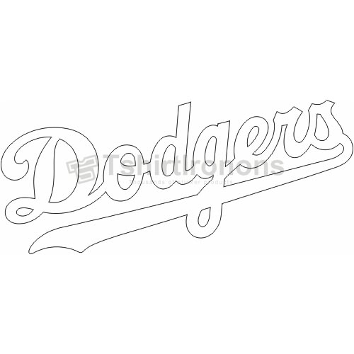 Los Angeles Dodgers T-shirts Iron On Transfers N1669