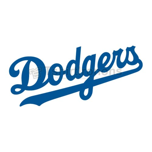 Los Angeles Dodgers T-shirts Iron On Transfers N1670