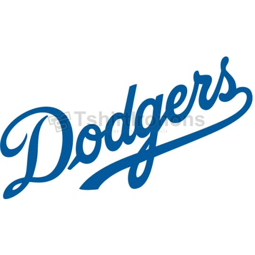 Los Angeles Dodgers T-shirts Iron On Transfers N1671