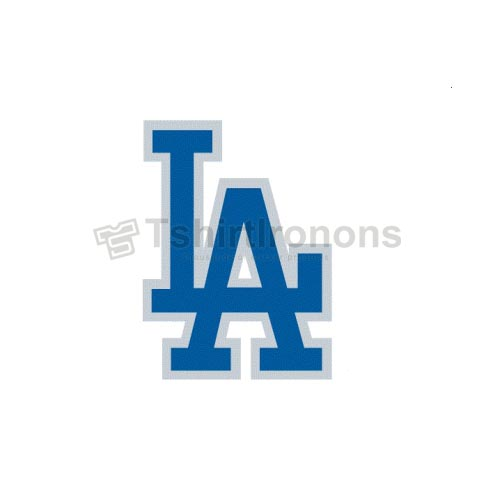Los Angeles Dodgers T-shirts Iron On Transfers N1675