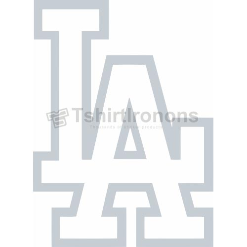 Los Angeles Dodgers T-shirts Iron On Transfers N1676