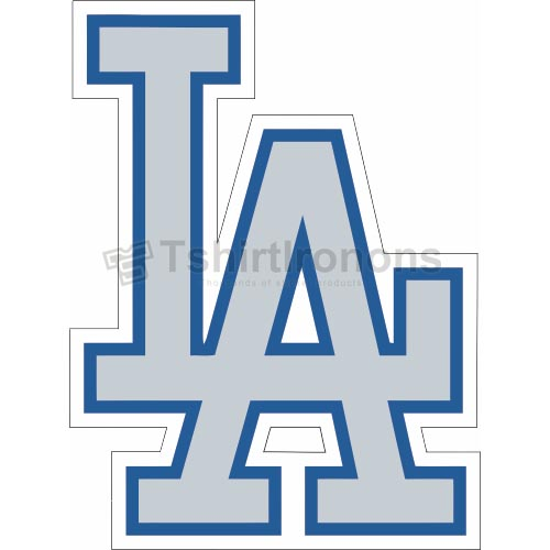 Los Angeles Dodgers T-shirts Iron On Transfers N1677