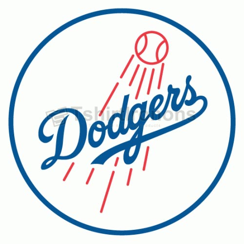 Los Angeles Dodgers T-shirts Iron On Transfers N1679