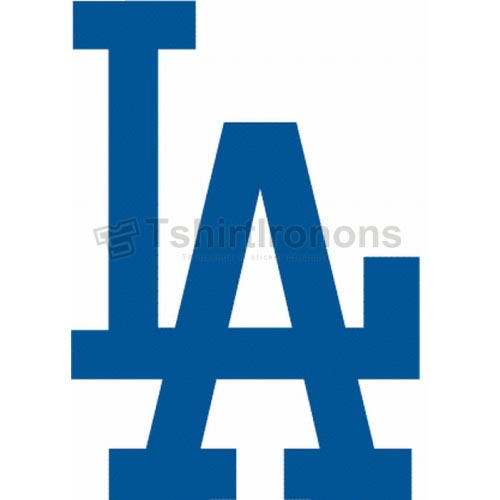 Los Angeles Dodgers T-shirts Iron On Transfers N1682