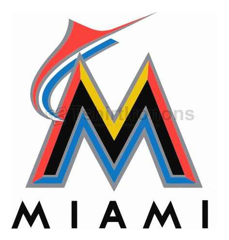 Miami Marlins T-shirts Iron On Transfers N1683