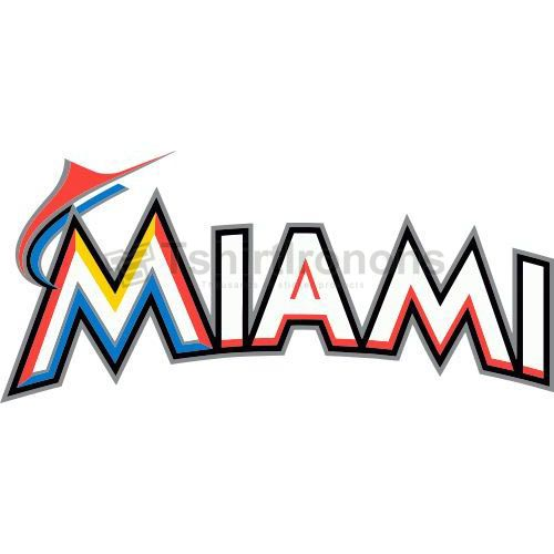 Miami Marlins T-shirts Iron On Transfers N1685
