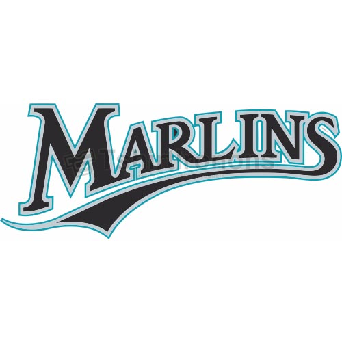 Miami Marlins T-shirts Iron On Transfers N1689