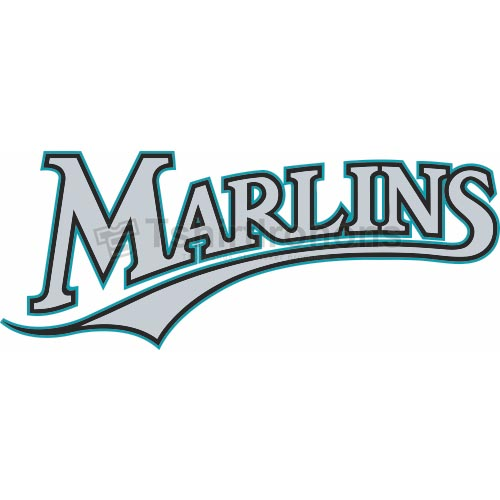 Miami Marlins T-shirts Iron On Transfers N1690