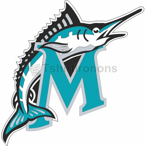 Miami Marlins T-shirts Iron On Transfers N1695