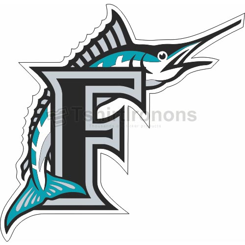 Miami Marlins T-shirts Iron On Transfers N1697