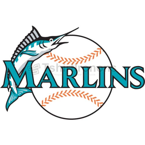 Miami Marlins T-shirts Iron On Transfers N1700
