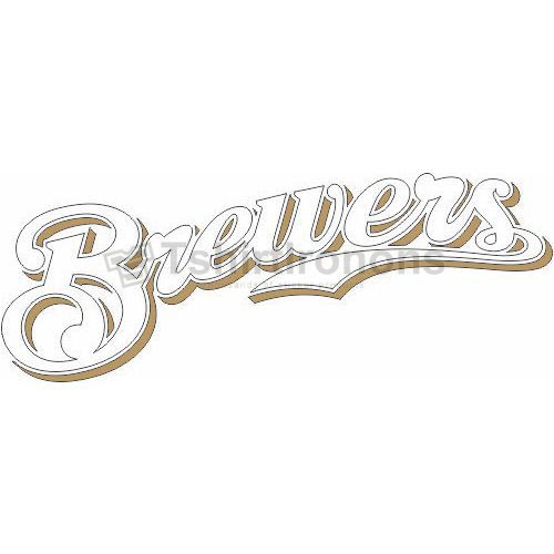 Milwaukee Brewers T-shirts Iron On Transfers N1707