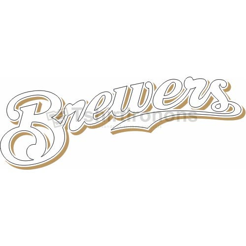 Milwaukee Brewers T-shirts Iron On Transfers N1710