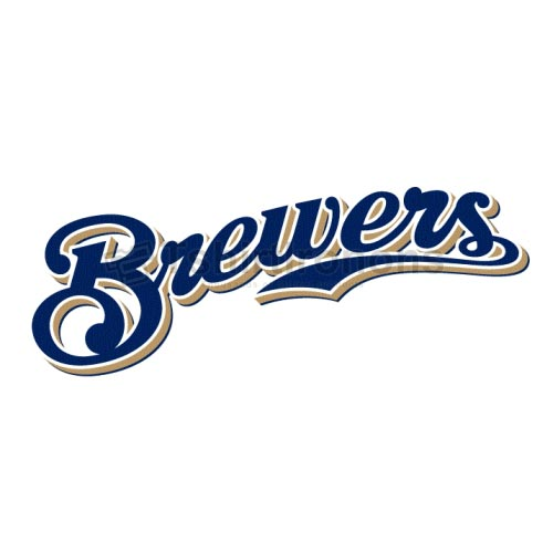 Milwaukee Brewers T-shirts Iron On Transfers N1711