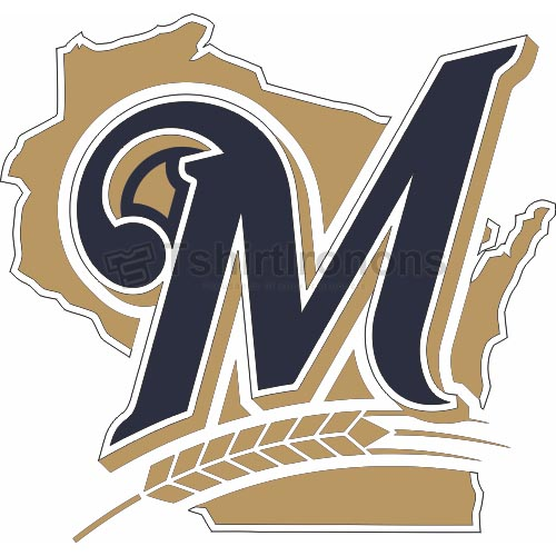 Milwaukee Brewers T-shirts Iron On Transfers N1716