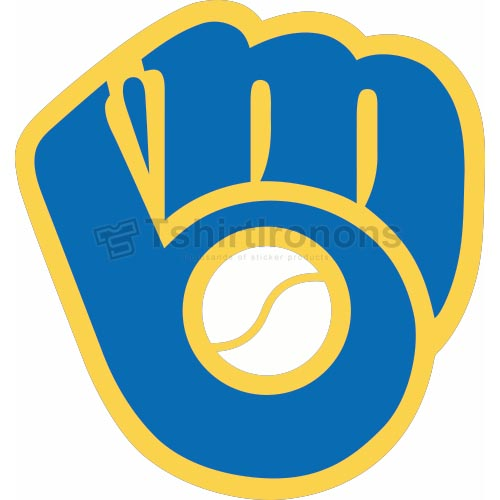 Milwaukee Brewers T-shirts Iron On Transfers N1718