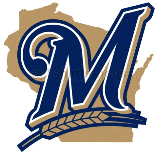 Milwaukee Brewers T-shirts Iron On Transfers N1720