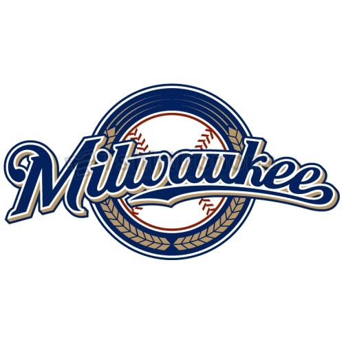 Milwaukee Brewers T-shirts Iron On Transfers N1721