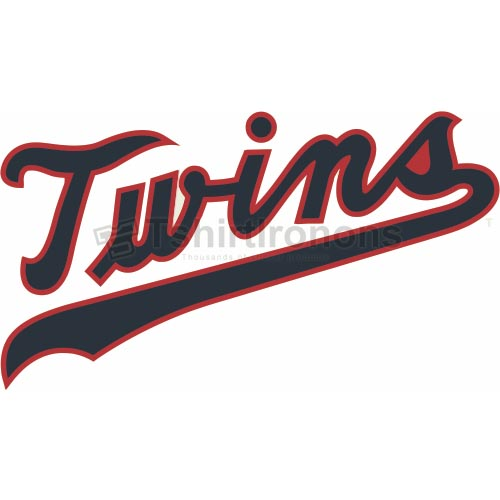 Minnesota Twins T-shirts Iron On Transfers N1723