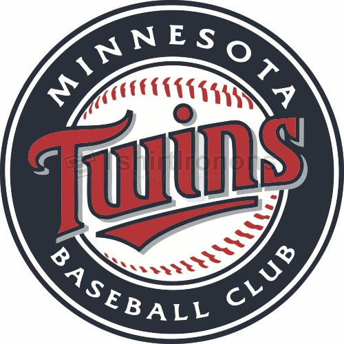 Minnesota Twins T-shirts Iron On Transfers N1724