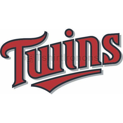 Minnesota Twins T-shirts Iron On Transfers N1726