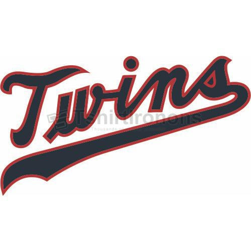 Minnesota Twins T-shirts Iron On Transfers N1727