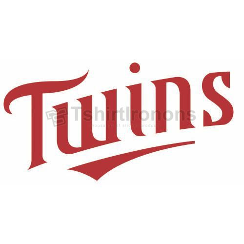 Minnesota Twins T-shirts Iron On Transfers N1728