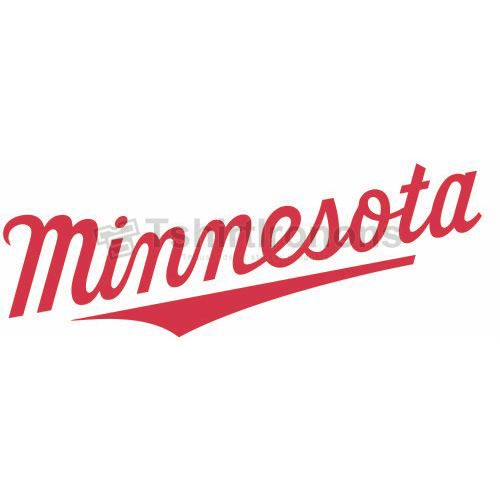 Minnesota Twins T-shirts Iron On Transfers N1729