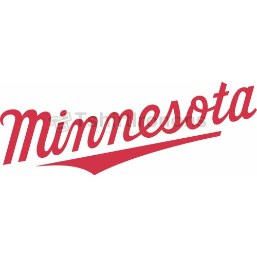 Minnesota Twins T-shirts Iron On Transfers N1730