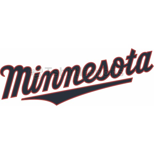 Minnesota Twins T-shirts Iron On Transfers N1731