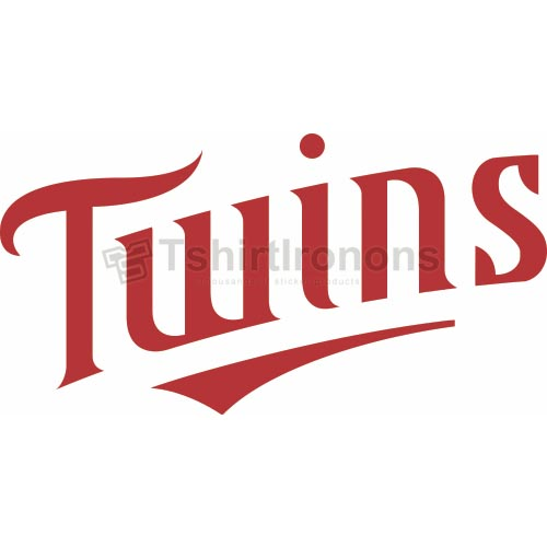 Minnesota Twins T-shirts Iron On Transfers N1732