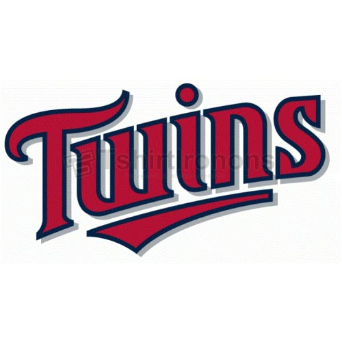 Minnesota Twins T-shirts Iron On Transfers N1733