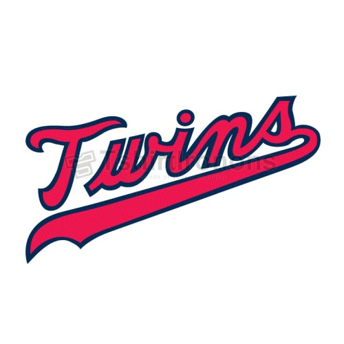 Minnesota Twins T-shirts Iron On Transfers N1734